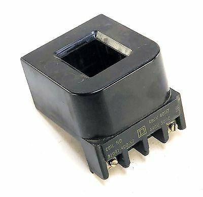Square D 3109140057 480 Vac Starter Closing Coil For Size 4 Motor Starter (X5)