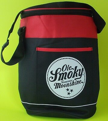 Ole Smokey Tennessee Moonshine Bag Insulated Round Cooler