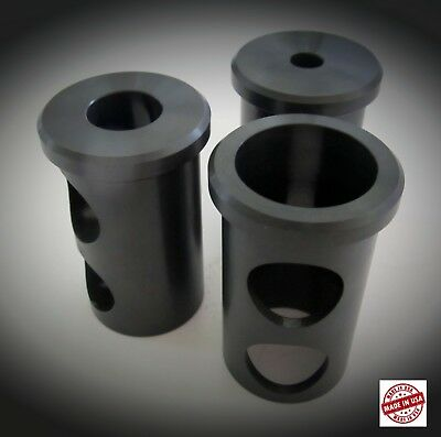 """3 New J Style Tool Holder Bushing 1 1/2"""" O.D.  ,5/8"""",1/2"""", 3/8""""  I.D. GREAT DEAL"""
