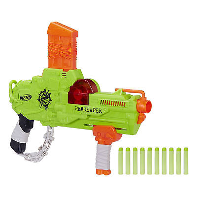 Nerf Gun Blaster Zombie Strike RevReaper Dart Toy Kids Children Fun Play Darts