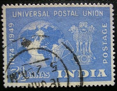 INDIA 1949 Yt IN 25 U.P.U. Universal Postal Union Mi IN 209