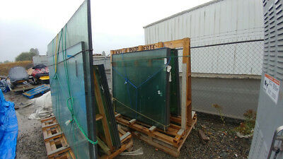 Heat Treated Anneal Double Glass New construction window
