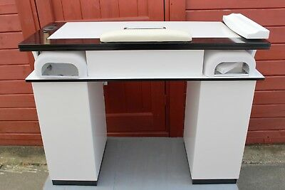 Manicure Table Nails Table Vbh3   White/black   Collection Only