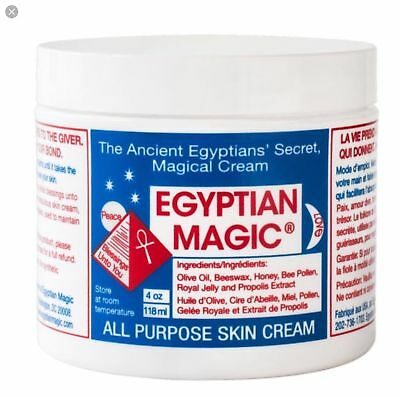 Egyptian Magic Cream. All Purpose Skin Cream/Balm. Great For Excema. 118ml.