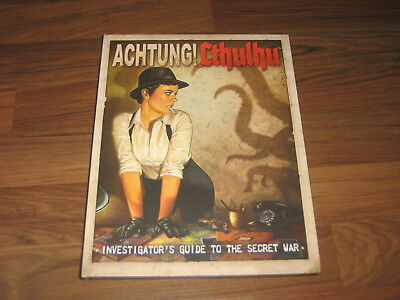 Achtung! Cthulhu Investigator's Guide to the Secret War Modiphius Entertainment