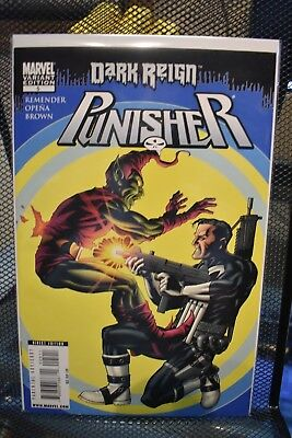 The Punisher #5 Green Goblin Dark Reign Variant Marvel Comics Rick Remender