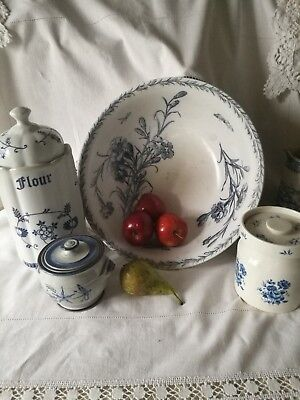 Antique Villeroy & Boch Bowl, Nelke Pattern