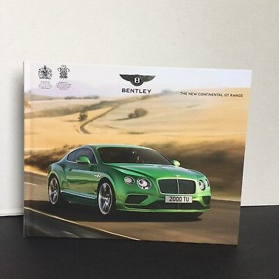 Bentley Continental GT Hardback Promotional Book