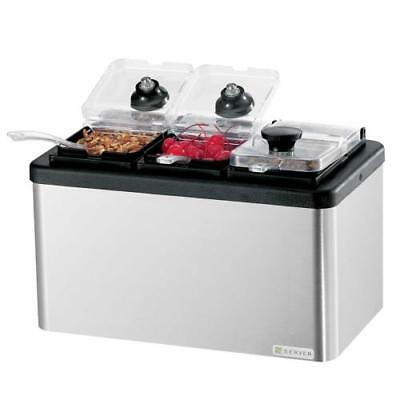 Server - 87290 - Insulated Mini Bar w/3 Jars and Spoons