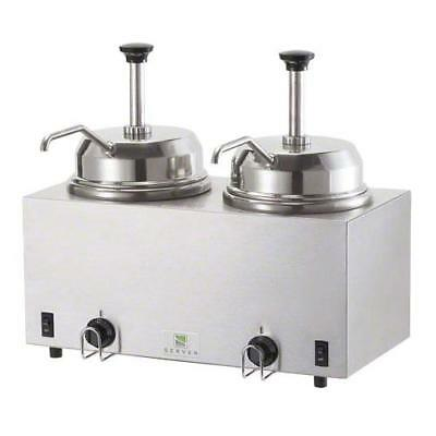 Server - 81230 - Twin Topping Warmer w/(2) Pumps