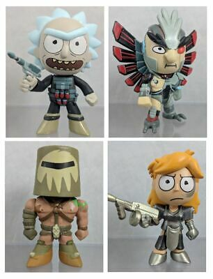 Funko Mystery Minis: RICK AND MORTY - Series 2 - GAMESTOP EXCLUSIVES!