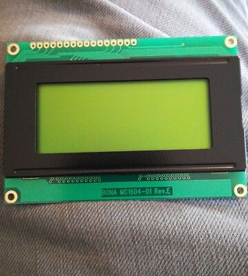 50 Pack Bona Fida Technology LCD Module - MC1604-01 rev E
