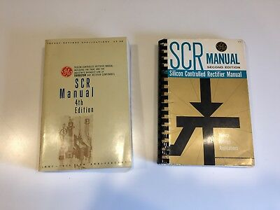 GE SCR Manuals, 1961 and 1967