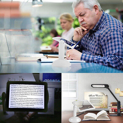 Rotate Magnifying Tool Home Gadget Accessories 3X Reading Magnifier