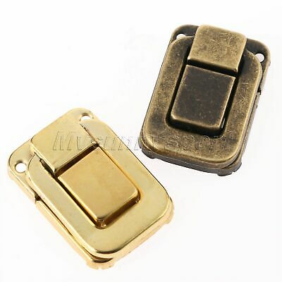 Vintage Jewelry Gift Wine Box Latch Toggle Square Buckle Hasp Decorative UK