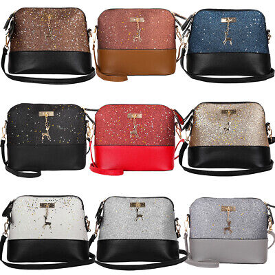 Women Ladies Crossbody Leather Shoulder Bag Tote Purse Handbag Messenger Satchel