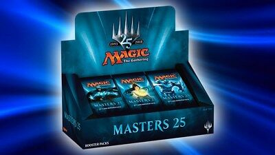 Magic MASTERS 25 Booster Box 24 Boosters Sealed MTG
