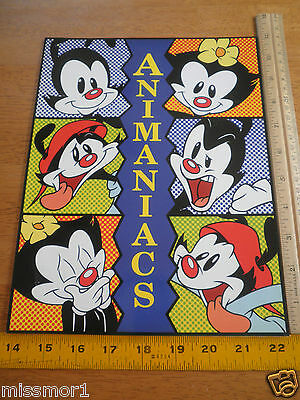 1994 Warner Brothers Animaniacs licensing folder Wacko Yacko Dot corporate