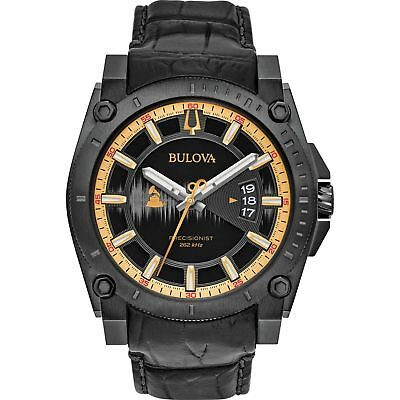 Bulova 98B293 Men's Precisionist collection Black Quartz Watch