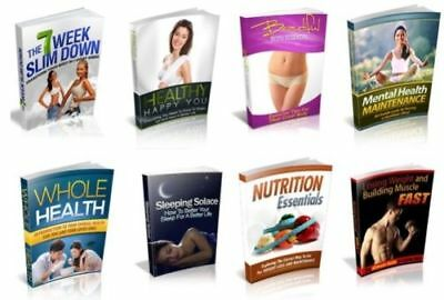 100 Fitness & Health eBooks with Resell Rights ( Only 5 ¢ per Book ) PDF