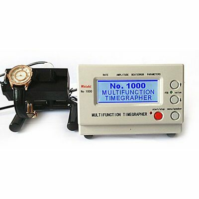 NO.1000 Timegrapher Watch Timing Machine Tester Calibration Repair Tools New CU