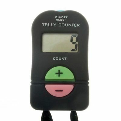 1X Sport Hand Tally Handheld Manual Digit Hand Tally Counter 6.5x3.5*2cm   DJ8