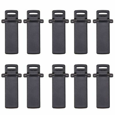 Walkie Talkie clamps Spare Part Back Belt Clip for Baofeng 2-way Radio UV5R D9B8