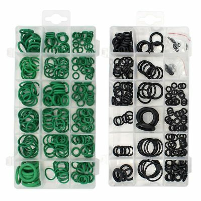 495PCS 36 Sizes O-ring Kit Black&Green Metric O ring Seals Rubber O ring Ga G6Y1