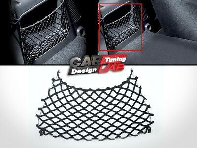 Rear Trunk Boot Net String Bag Storage Cargo Mesh For Smart 451 Fortwo 2007-2014