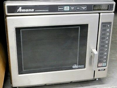 Amana RC17S2 Commercial Microwave 208-230V 20A 1700 Watts Cooking Power