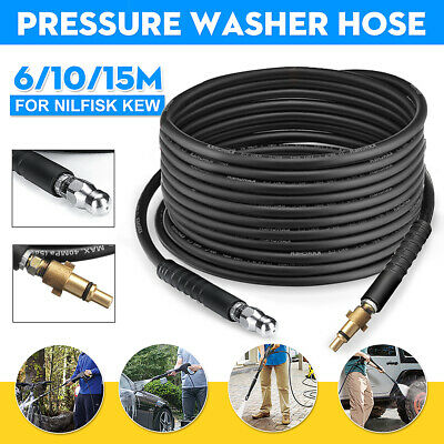 Pressure Washer Gun Drain Jetter Sewer Nozzle Cleaning Hose For Nilfisk  Alto Kew
