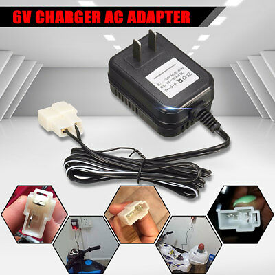 6V Wall AC Adapter Charger Power Supply For Kid TRAX ATV Quad Ride On Car