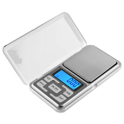Portable 200g x 0.01g Gram Mini Digital Scale Jewelry Pocket Balance Weight LCD