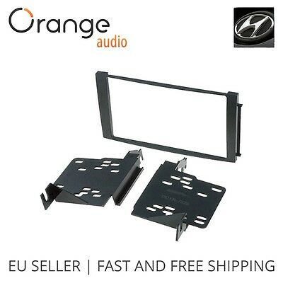 For Hyundai Santa Fe Faceplate Double Din Fitting Fascia Car stereo 2007 - 2012