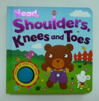 New Head Shoulder Knees & Toes Sound Book Ages 0 Month+ Babies Birthday Gift
