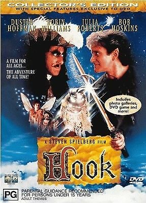 Hook (Collector's Edition) - Brand New DVD Region 4