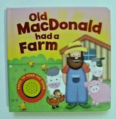 Old MacDonald had a Farm  Sound book hardback NEW!!!, Ages 6 month+