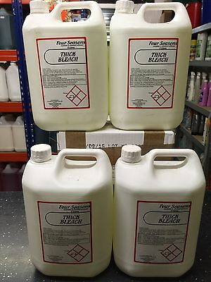 Professional Thick Bleach 5 Litres X 4