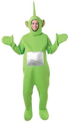 Adult Teletubbies Dipsy Costume Stag Halloween BBC Rubies Official New Green