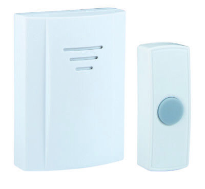 Byron wirefree portable door chime with night glow push 75m range - 16 melodies  sc 1 st  PicClick & BYRON WIREFREE PORTABLE door chime with night glow push 75m range ...