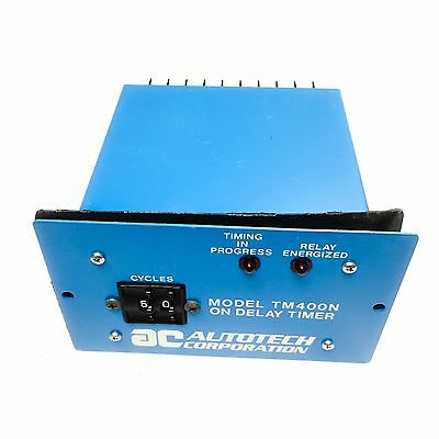 TM400N Autotech Corporation On Delay Timer