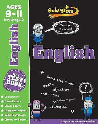 Gold star English age 9-11 KS2 for practice with test book