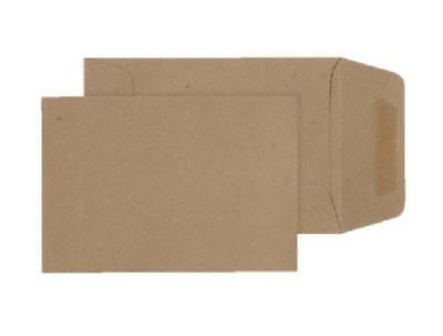 Small Brown Dinner Money Wages Petty Cash Envelopes Manilla (Pack Of 100), 98X6