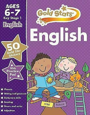 Gold star English age 6-7 KS 1 for practice with test book