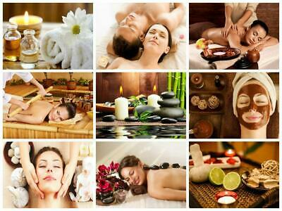 SPA Massage Health Beauty Facial Thai Relaxation Salon Poster - A4 A3 A2 Size