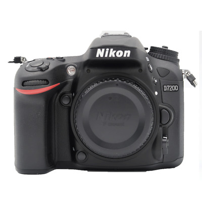 Nikon D7200 24.2MP DX-Format CMOS Sensor Digital SLR Body (Black)