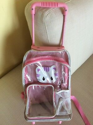 Hello Kitty Mini Trolley Zainetto Per Bambina Ragazzina Con Scomparti
