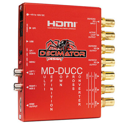 Decimator Design MD-DUCC Multi-Definition Down Up Cross Converter (Open Box)
