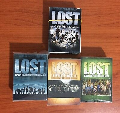 Lost Trading Cards Premium Season One - Two - Three E Revelations Complete Hbo