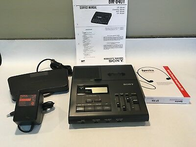 Sony BM840 REFURBISHED Micro Cassette with PS, FP, New Headset *90 Day Warranty*